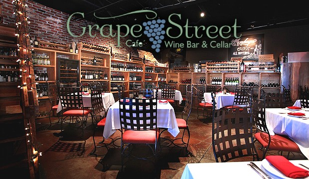 Grape Street Café, Wine Bar & Cellar Tops off 2013 with a Night of Merriment